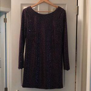Tibi Sequin Dress